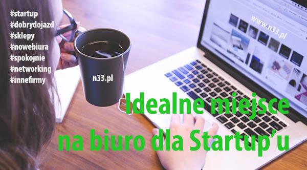małe biura dla startup